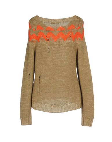 Фото 2 - Женский свитер  цвета хаки