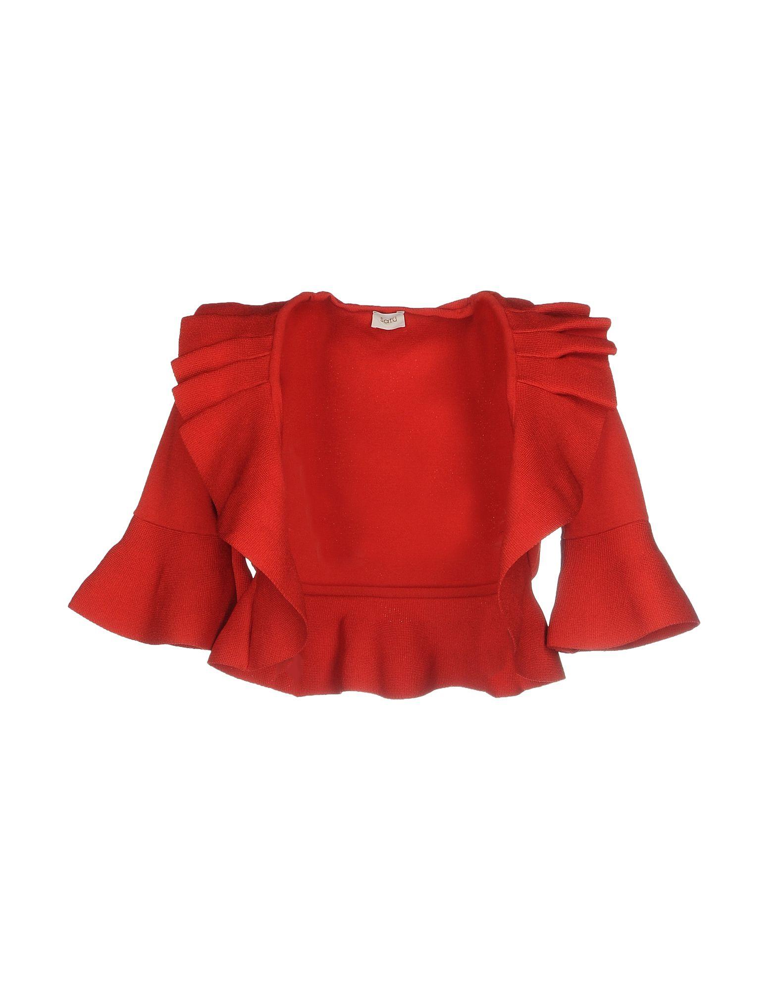 SATU´ Damen Bolero Farbe Rot Größe 4