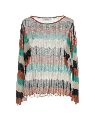 Фото - Женский свитер JUCCA ржаво-коричневого цвета
