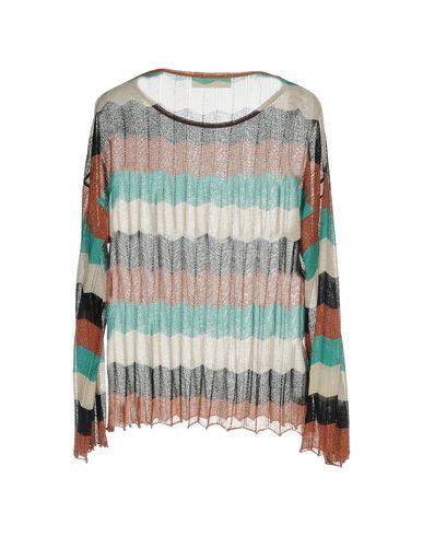 Фото 2 - Женский свитер JUCCA ржаво-коричневого цвета
