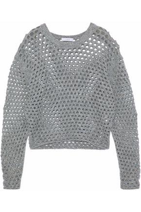 IRO Donegal open-knit sweater