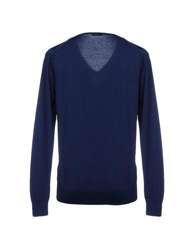 Фото 2 - Мужской свитер AT.P.CO темно-синего цвета