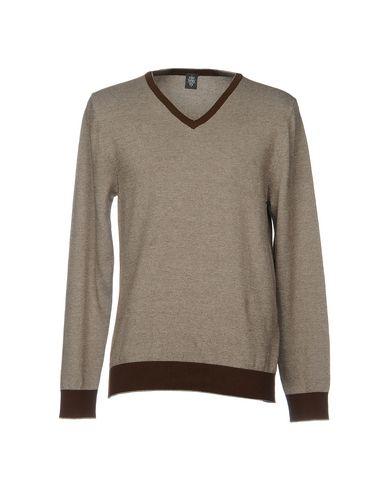 Фото - Мужской свитер ELEVENTY темно-коричневого цвета