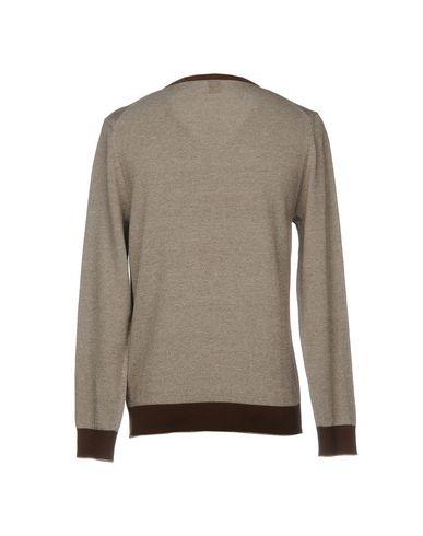 Фото 2 - Мужской свитер ELEVENTY темно-коричневого цвета