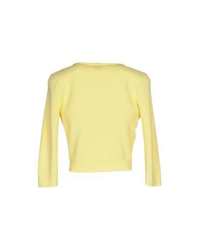 Фото 2 - Женский кардиган  желтого цвета