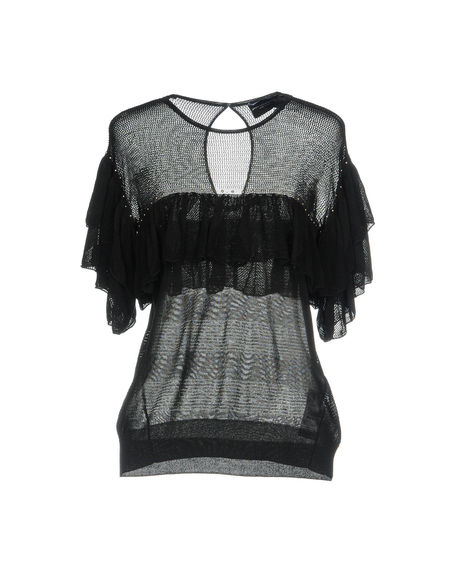 ATOS LOMBARDINI Sweater in Black