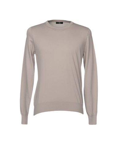Фото - Мужской свитер FAY цвет голубиный серый