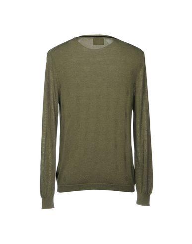 Фото 2 - Мужской свитер RELIVE цвет зеленый-милитари