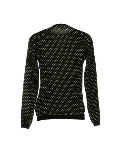 Фото 2 - Мужской свитер RELIVE черного цвета
