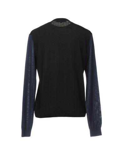 Фото 2 - Мужской свитер McQ Alexander McQueen черного цвета