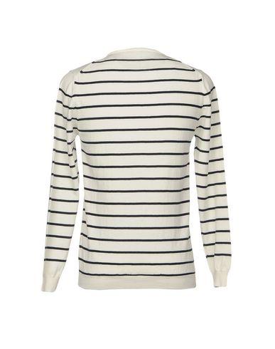 Фото 2 - Мужской свитер INDIVIDUAL белого цвета