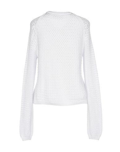 Фото 2 - Женский свитер  белого цвета