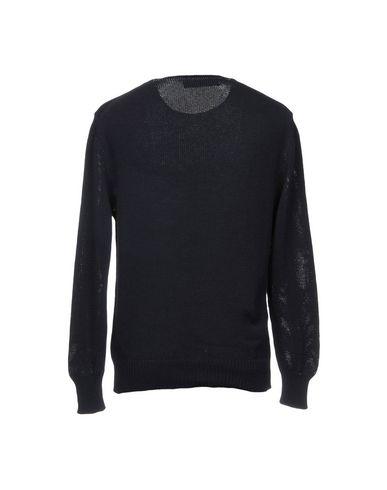 Фото 2 - Мужской свитер CHRISTIAN PELLIZZARI темно-синего цвета