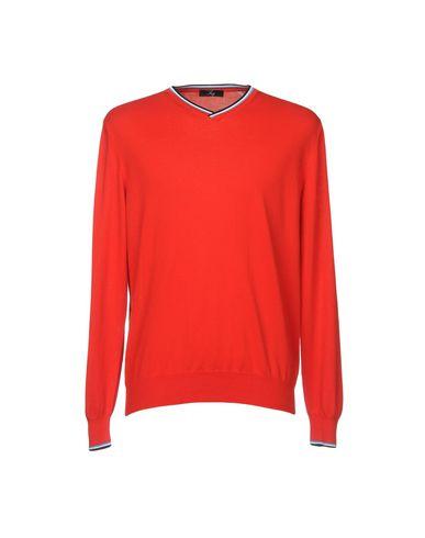 Фото - Мужской свитер FAY красного цвета