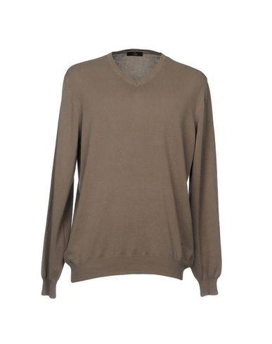 Фото - Мужской свитер FAY серого цвета
