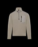 MONCLER ZIPPED MOCK POLO NECK - Jumpers - men