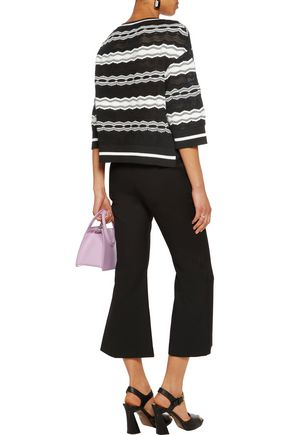M MISSONI Striped jacquard-knit sweater