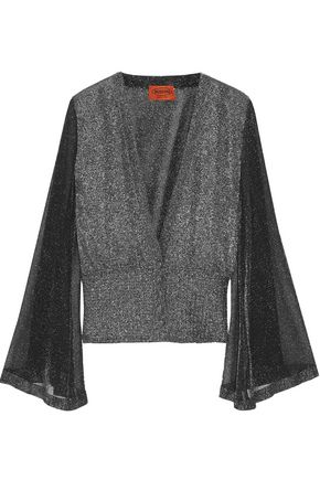 MISSONI Metallic knitted cardigan