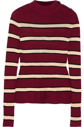 ISABEL MARANT ÉTOILE Devona striped stretch-knit sweater