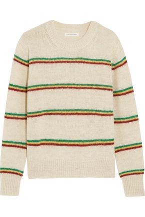 ISABEL MARANT ÉTOILE Goya striped alpaca-blend sweater