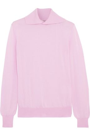 EMILIA WICKSTEAD Gabrielle wool, silk and cashmere-blend sweater
