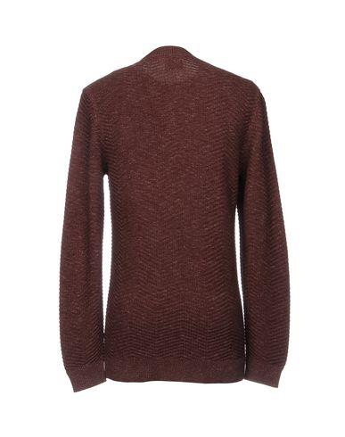 Фото 2 - Мужской свитер  цвет баклажанный