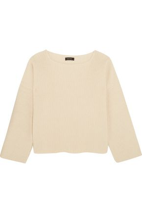 ISABEL MARANT Fly ribbed cotton-blend sweater
