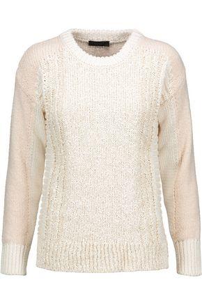 BELSTAFF Cotton-blend bouclé sweater