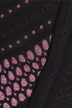 M MISSONI Metallic stretch-knit sweater