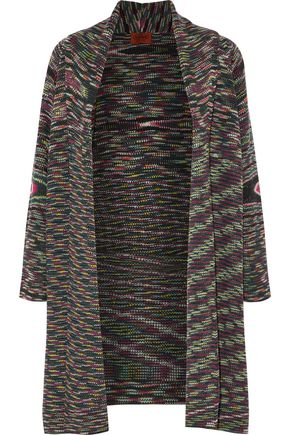 MISSONI Ribbed wool cardigan