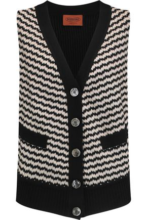 MISSONI Stretch-knit vest