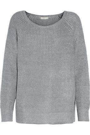 JOIE Emari waffle-knit wool-blend sweater