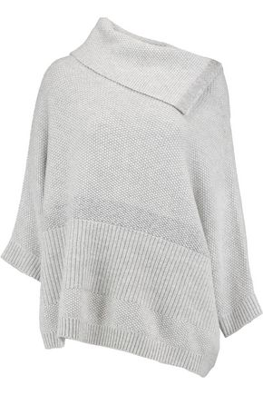 DUFFY Oversized wool-blend waffle-knit sweater