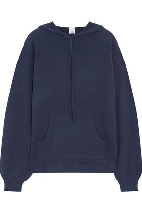 IRIS AND INK Anya cashmere hooded top