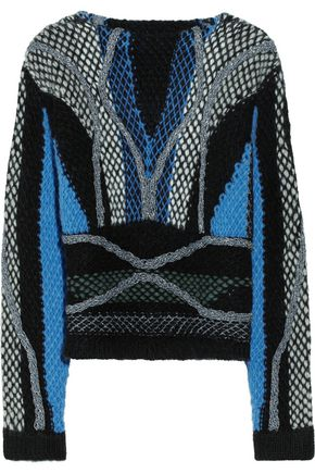 PETER PILOTTO Moleton chunky-knit wool-blend sweater