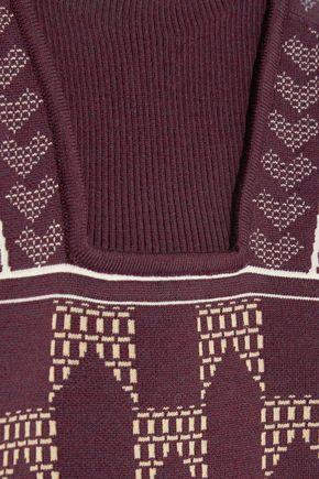 PETER PILOTTO Intarsia wool-blend sweater