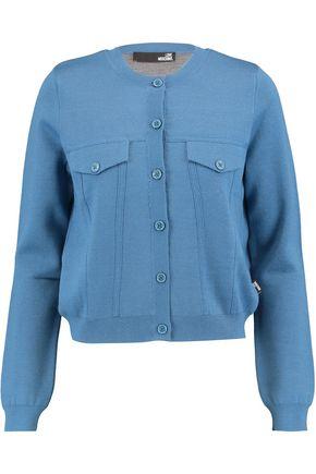 LOVE MOSCHINO Wool-blend cardigan