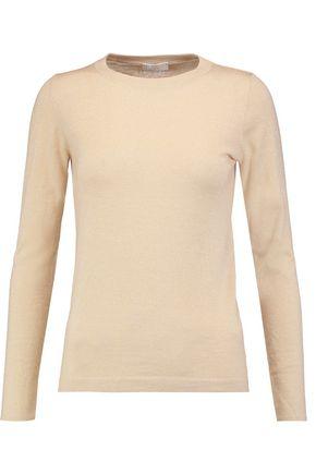 BRUNELLO CUCINELLI Metallic cashmere-blend sweater