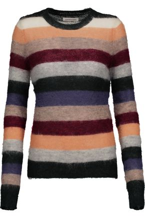 ISABEL MARANT ÉTOILE Cassy striped mohair-blend sweater