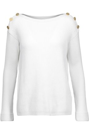 MAX MARA Ribbed cotton-blend sweater