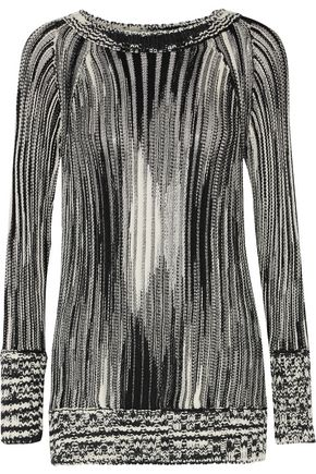 MISSONI Open-knit wool-blend sweater