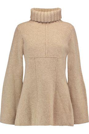 PRINGLE OF SCOTLAND Flared wool turtleneck sweater