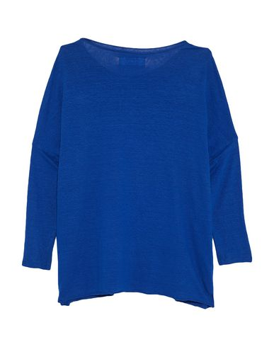 Фото 2 - Женскую футболку LABO.ART ярко-синего цвета