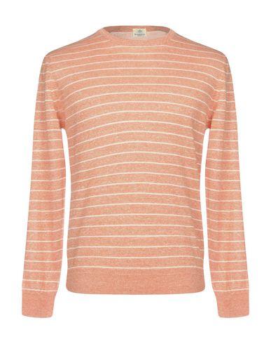 Фото - Мужской свитер LUIGI BORRELLI NAPOLI оранжевого цвета