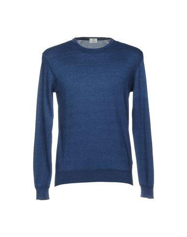 Фото - Мужской свитер LUIGI BORRELLI NAPOLI темно-синего цвета