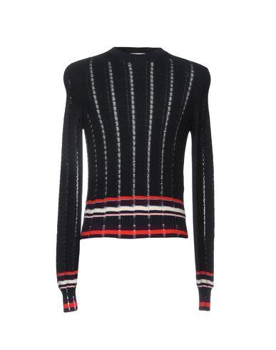 Фото - Мужской свитер MSGM темно-синего цвета