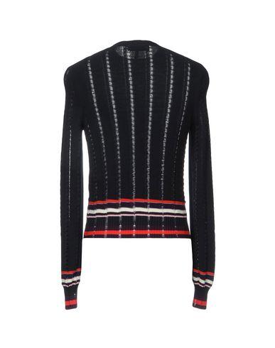 Фото 2 - Мужской свитер MSGM темно-синего цвета