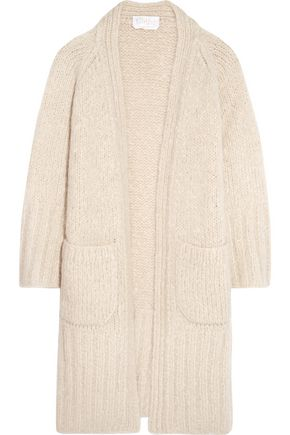 CHLOÉ Mohair, wool and cashmere-blend cardigan