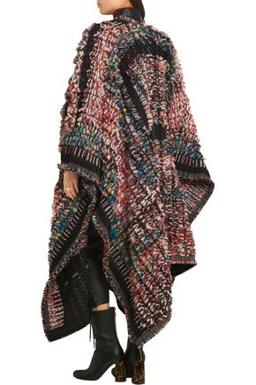 Sale 70Off Jacquard Blend To PonchoChloé The Wool Bouclé Up PiXukZ