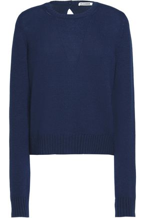 JIL SANDER Ribbed cashmere sweater